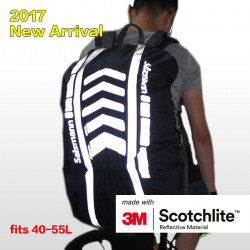 3M black backpack cover -...